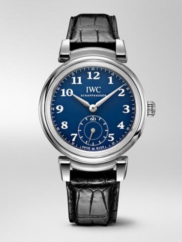 "IWC 达文西自动腕表""150 周年""精钢特别版IW35810黑色表带"