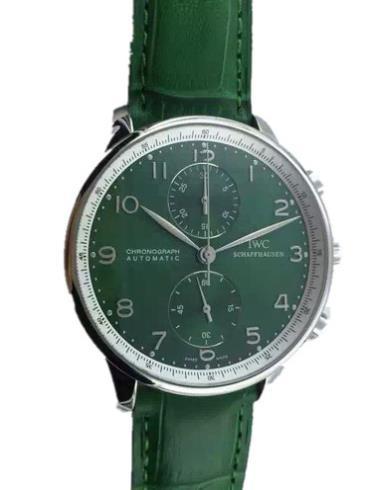 万国葡萄牙系列IW371430绿色表带