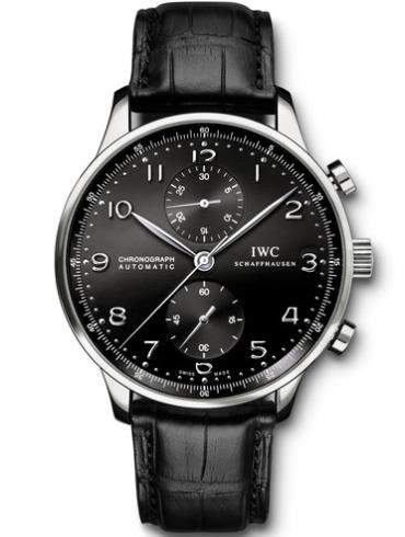 万国葡萄牙系列IW371413黑色表带