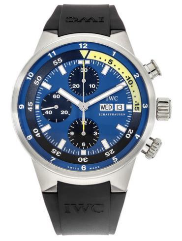 万国海洋系列IW378203蓝色表盘