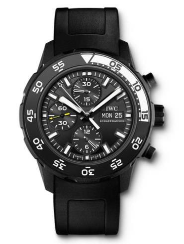 万国海洋系列IW376705黑色表盘