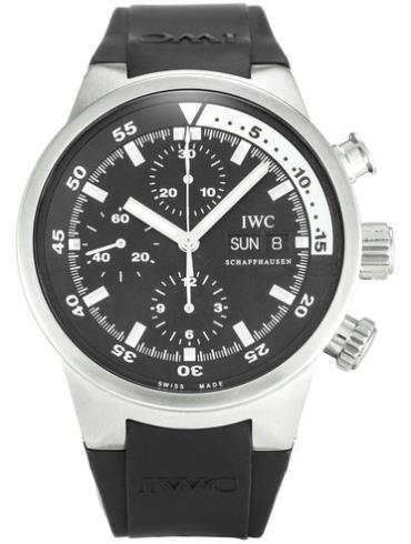 万国海洋系列IW371933黑色表盘