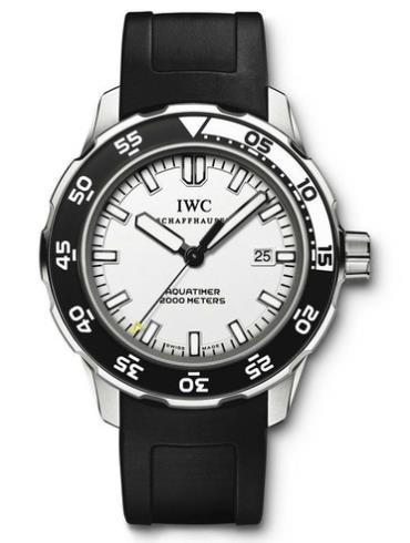 万国海洋系列IW356811白色表盘
