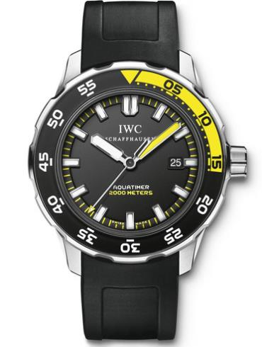 万国海洋系列IW356810黑色表盘