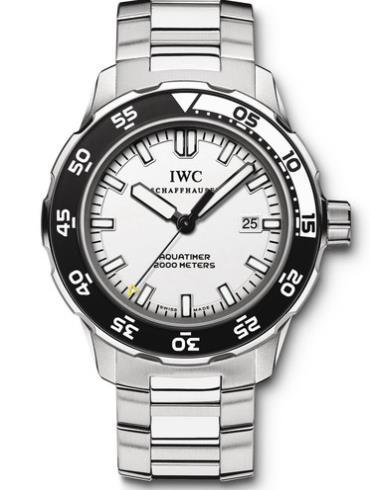 万国海洋系列IW356809白色表盘