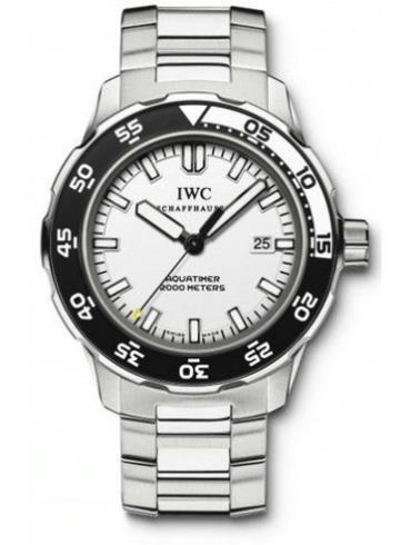 万国海洋系列IW356805银色表带