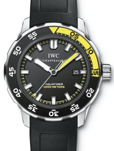 万国海洋系列IW356802黑色表壳