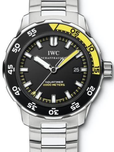 万国海洋系列IW356801黑色表壳