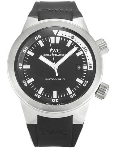 万国海洋系列IW354807黑色表壳