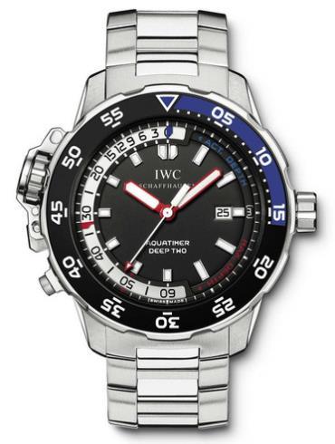 万国海洋系列IW354703银色表带