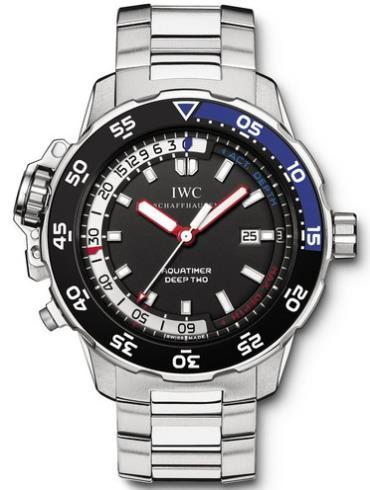 万国海洋系列IW354701银色表带