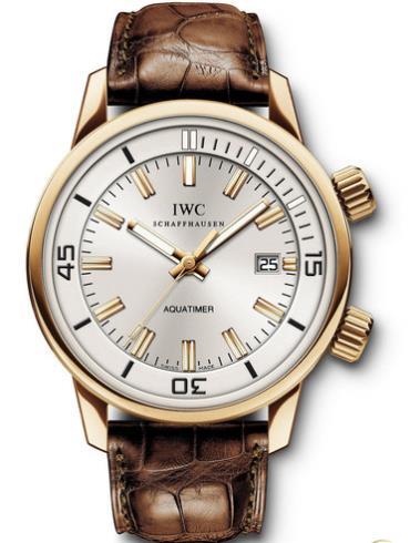 万国海洋系列复刻腕表IW323103玫瑰金表扣