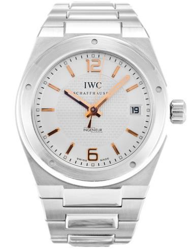 万国工程师系列IW322801银色表带