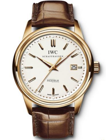 万国工程师系列复刻腕表IW323303玫瑰金表扣