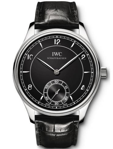 万国复刻系列IW544501黑色表带