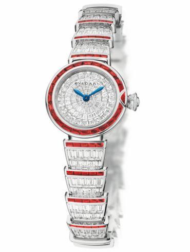 宝格丽LVCEA系列102464红宝石版女士白色表盘