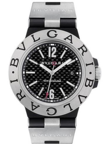 宝格丽DIAGONO系列TI44BTAVTD黑色表带