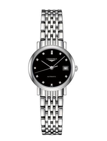 浪琴博雅系列L4.309.4.57.6精钢表扣