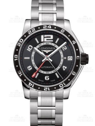 浪琴海军上将系列L3.668.4.56.6精钢表扣