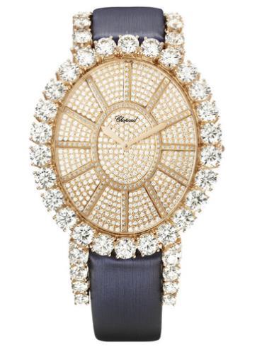 萧邦女装珠宝系列139291-5102金色表盘
