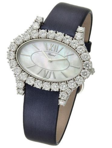 萧邦女装珠宝系列139376-1002白色表盘