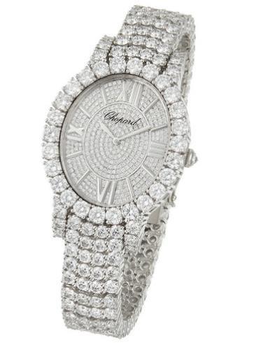 萧邦女装珠宝系列109420-1002白色表盘