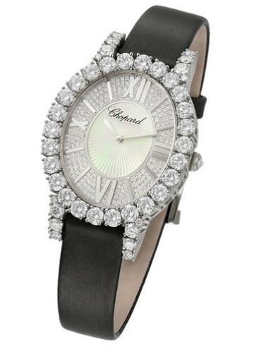 萧邦女装珠宝系列139383-1001白色表盘