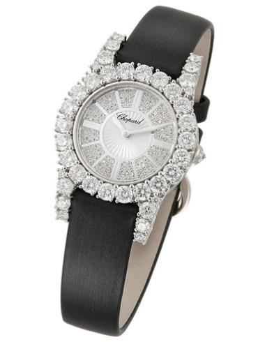萧邦女装珠宝系列139377-1001银色表壳