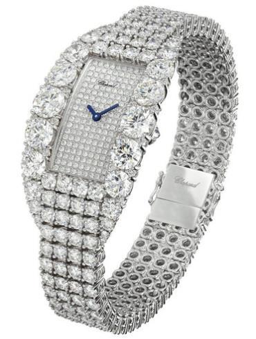 萧邦女装珠宝系列109189-1009银色表壳