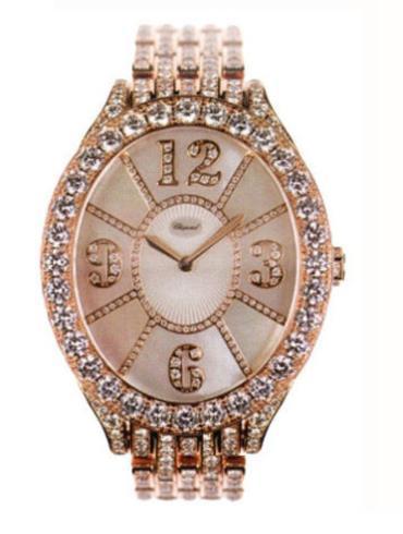萧邦经典女装系列109258-5003金色表盘