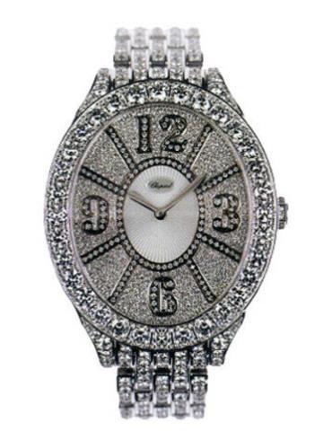 萧邦经典女装系列109258-1004银色表盘