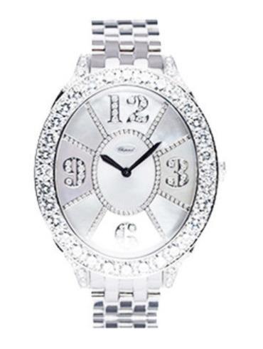 萧邦经典女装系列109258-1001银白色表盘