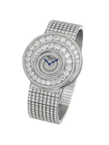 萧邦经典女装系列109220-1001银白色表盘