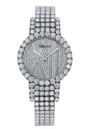 萧邦经典女装系列109120-1001银色表盘
