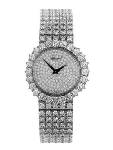 萧邦经典女装系列109119-1001银色表盘