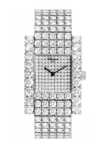 萧邦经典女装系列106873-1001银色表盘