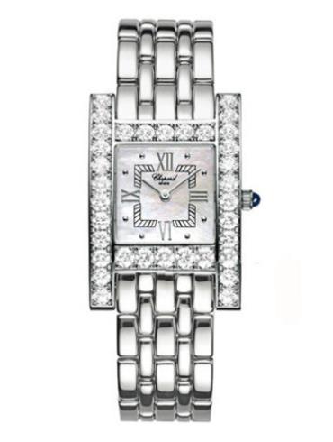 萧邦经典女装系列106805-1001银白色表盘