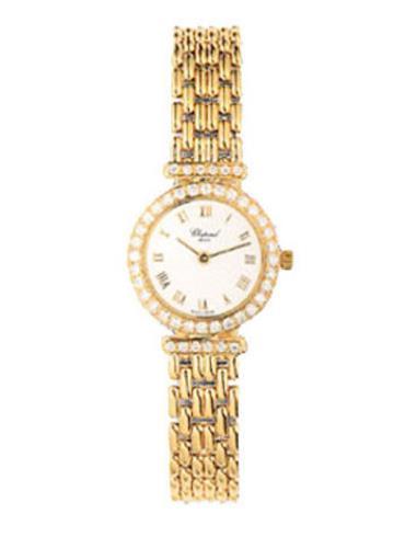 萧邦经典女装系列105895-0006金色表带