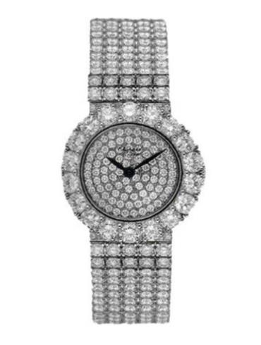 萧邦经典女装系列105728-1001银色表带