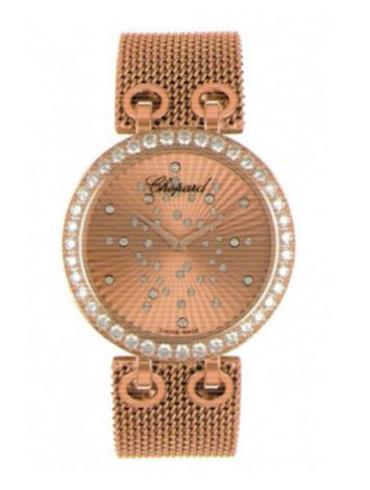 萧邦经典女装系列104236-5002金色表壳