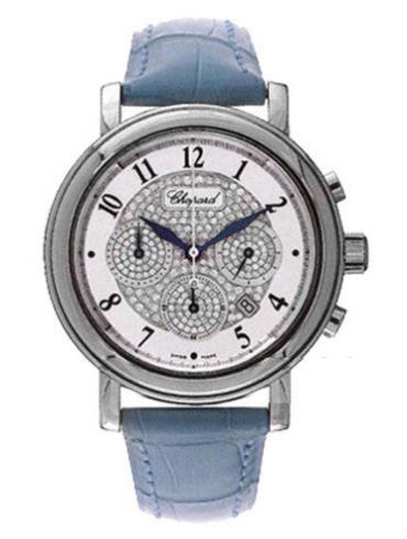 萧邦艾尔顿约翰系列161868-1001蓝色表带