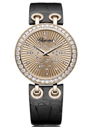 萧邦XTRAVAGANZA系列134236-5001银色表壳