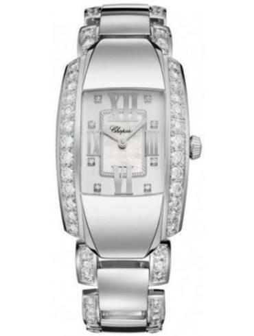 萧邦La Strada系列419400-1004银白色表盘