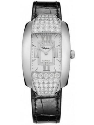 萧邦La Strada系列419399-1001银白色表盘