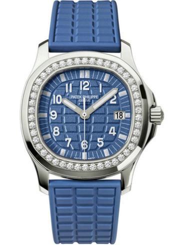 百达翡丽Aquanaut系列5067A-022蓝色表盘
