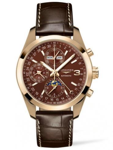 浪琴康铂系列L2.798.8.62.3三冠王限量版腕表