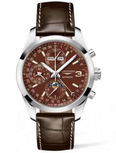 浪琴康铂系列L2.798.4.62.3三冠王限量版腕表