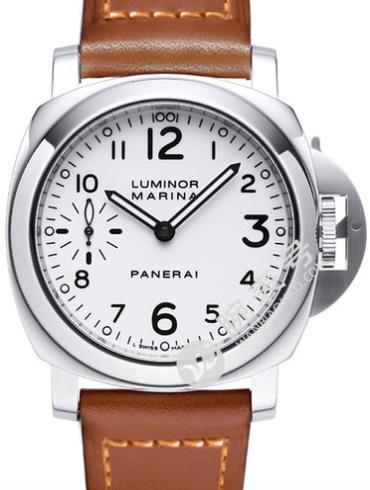 沛纳海Luminor系列PAM00113白色表盘