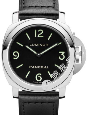 沛纳海Luminor系列PAM00112黑色表盘
