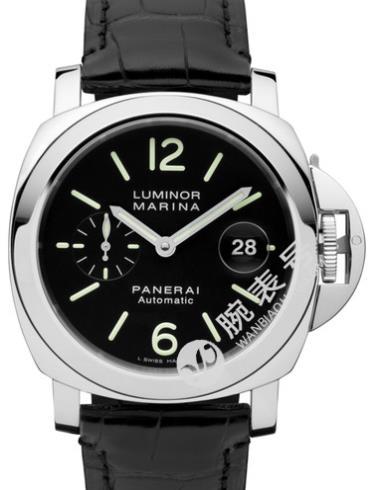沛纳海Luminor系列PAM00104黑色表盘